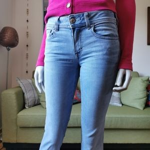 AE US 2 Boot Cut Jeans American Eagle light wash